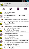 Screenshot of G2Studio News & Safety