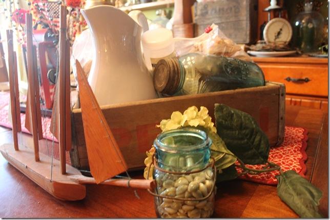 dinning table summer centerpiece 021