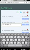 Screenshot of SMSView