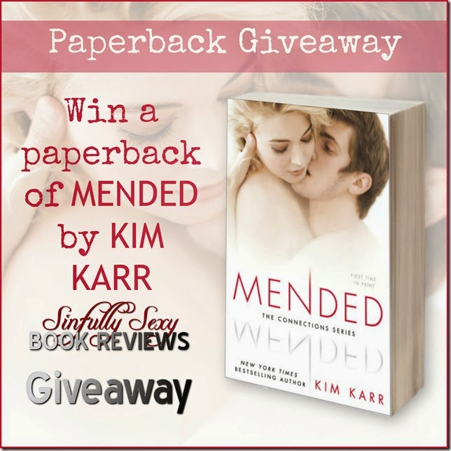 mended giveaway