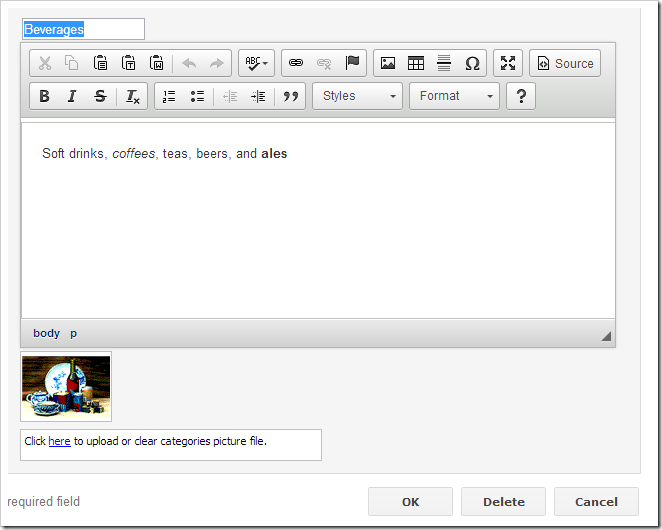 CKEditor control has replaced the standard rich text editor control.