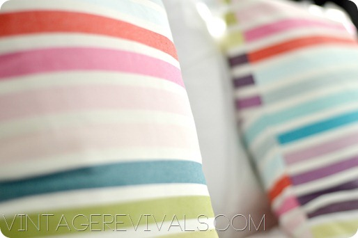 Striped Pillows 1
