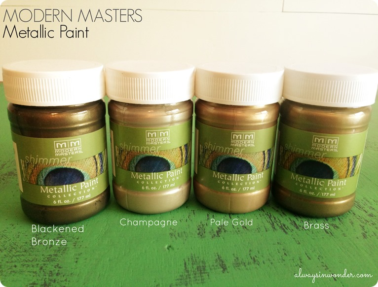 Modern Masters Metallic Paint review from alwaysinwonder