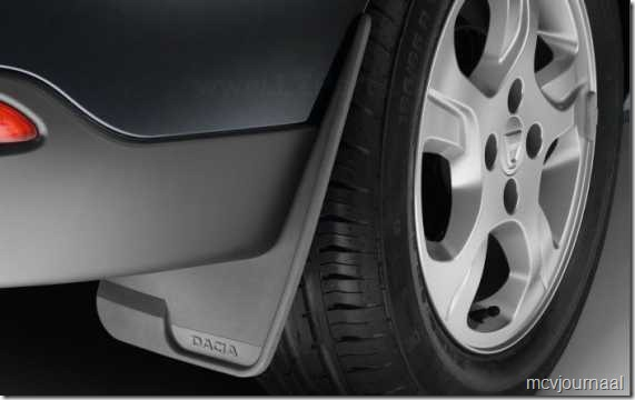 Spatlappen Dacia universeel