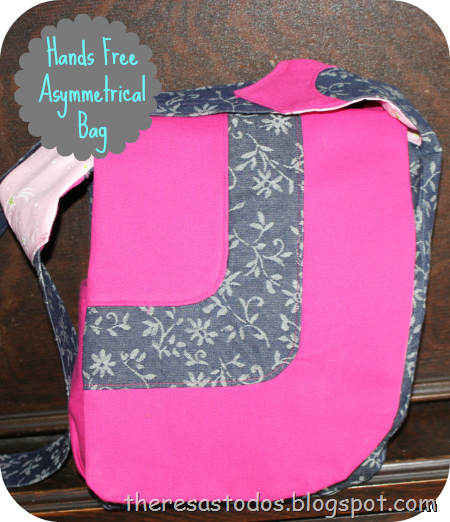 The best bag for busy mamas! The Hands Free Asymmetrical Bag