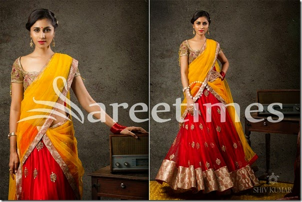 Yellow_Red_Half_Saree