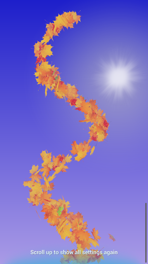 Autumn Leaves Live Wallpaper Screenshot 18