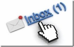 Inbox with an email