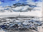 Stormy Sea Charu Saxena
