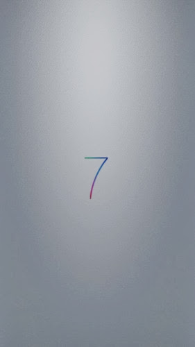 Ios7 iphone5 wallpaper rainbow