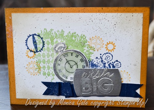 Clockworks, Stampin Up, Masculine Card