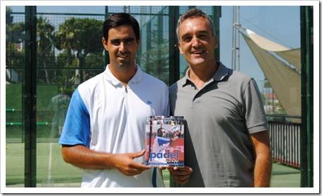 """Presentación del libro """"Preparación Física del Pádel basada en el trabajo en pista"""" el próximo 2 de agosto en el Club El Candado, Málaga.q"""