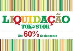 Tok & Stok realiza Liquidação com até 60% OFF.