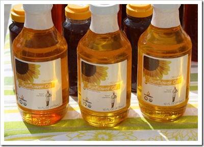sunflower oil, a moveable garden, woodstock farm festival