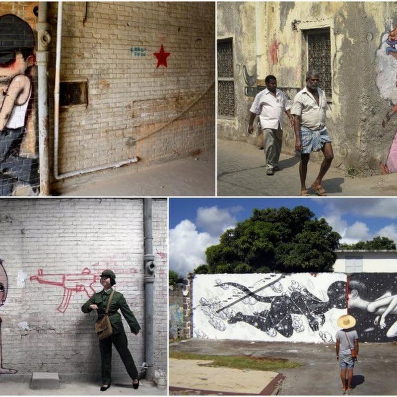 Street Art by Julien Malland a.k.a Seth Globepainter