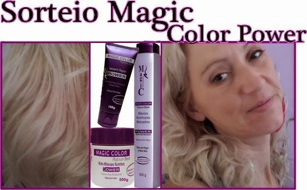 Sorteio Magic Color Power