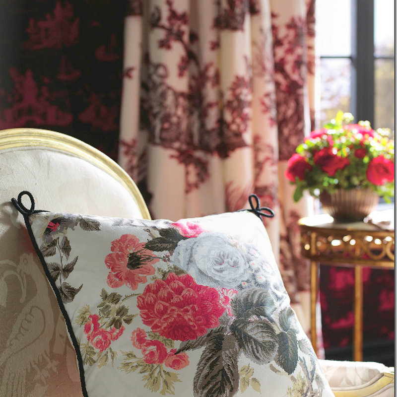 Pretty Rooms & Pretty Fabrics