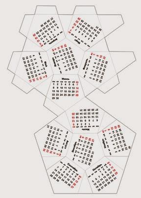 календарь многогранник 2015