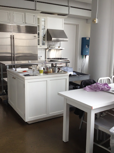 The Emeril Test Kitchen we shot in