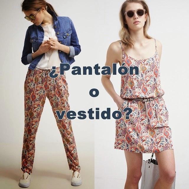 VESTIDO O PANTALON