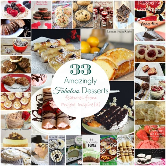 33 Amazingly Fabulous Desserts freatures from Project Inspire{d} (2)