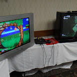 sonic the hedgehog 16 bit genesis at bravocon in Toronto, Ontario, Canada