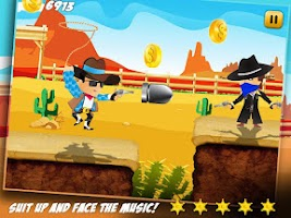 Screenshot of Fun Run Crazy Cowboy Dash Pro