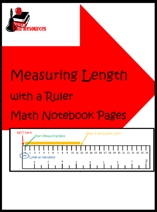 Teachers are Heroes Sale at Teachers Pay Teachers means 28% off of a HUGE selection of quality teaching resources from Raki's Rad Resources including this Interactive Math Notebook Lesson on Using a Ruler.