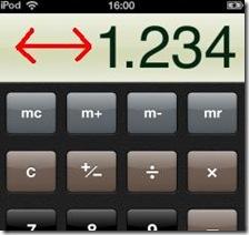 Cancellare l'ultima cifra immessa nella Calcolatrice