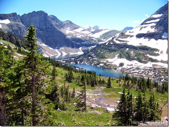 Hidden Lake and Highline Trails 047