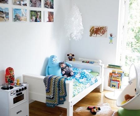 pokój dziecięcy w stylu folk