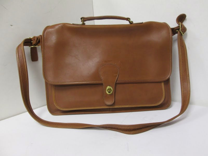 Vintage Brown Coach Satchel