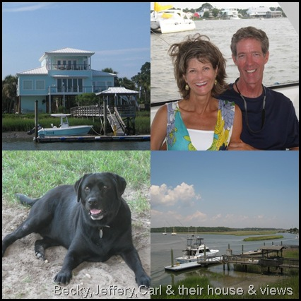 2011_06_26 edisto island, jeffery & becy and house & carl the dog