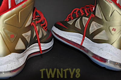 nike lebron 10 id production poor man championship gold 1 08 Poor Mans Championship Gold Nike LeBron X iD by TWNTY8