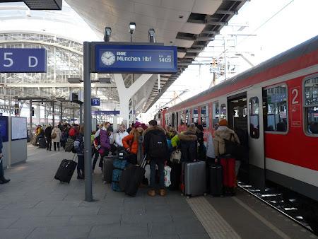 Cale ferata Germania: Trenul Munchen - Salzburg