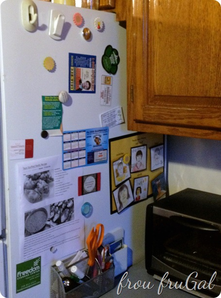 Side of Fridge