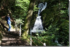 Wansfell Pike walk--Stockghyll Force waterfall