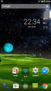 Green Hills Live Wallpaper - screenshot