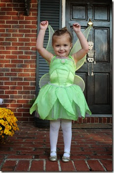 Zoey dressed up as Tinkerbell4