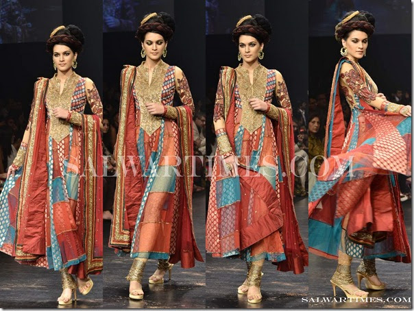 full sleeves salwar kameez by neeta lulla at day 5 lakme