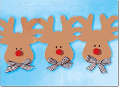 Manualidades cabeza de reno en goma eva - Decoracion navidad goma eva ...
