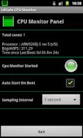 Screenshot of URSafe CPU Monitor