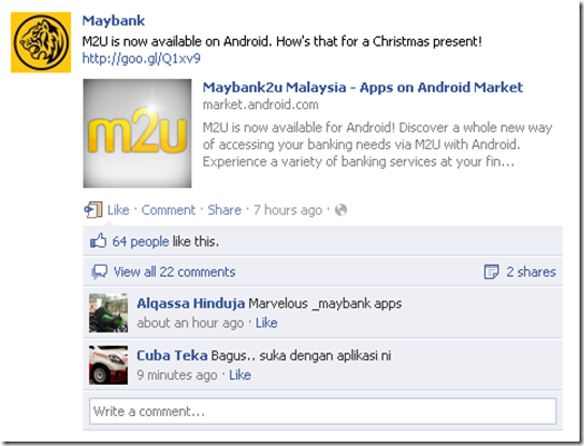 maybank2u di Android