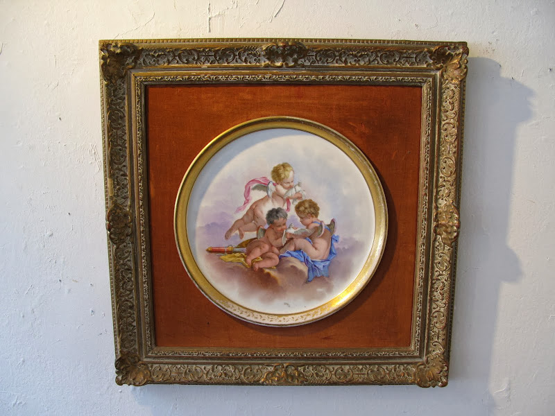 Antique Framed Plate