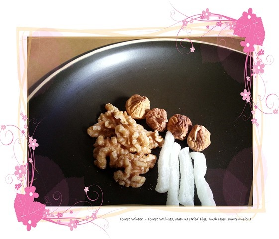 Walnuts Dried Figs Wintermelon
