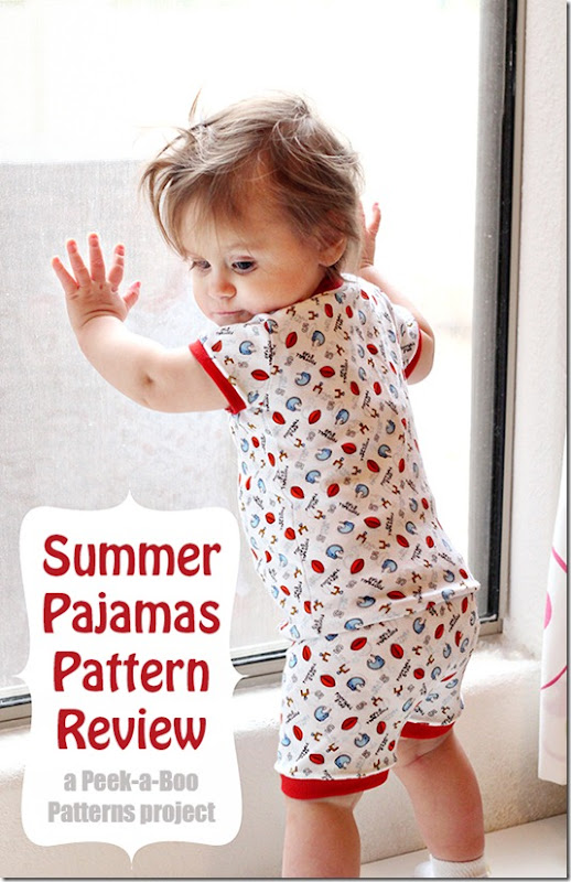 Peek-a-boo pattern review
