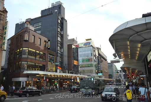 Gloria Ishizaka -andando por Kyoto - 6