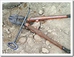 Building cadena under walls 022-1