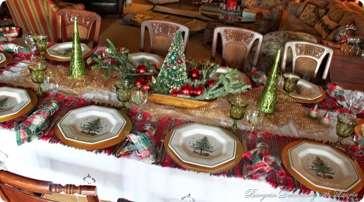 Christmas table 1 2013