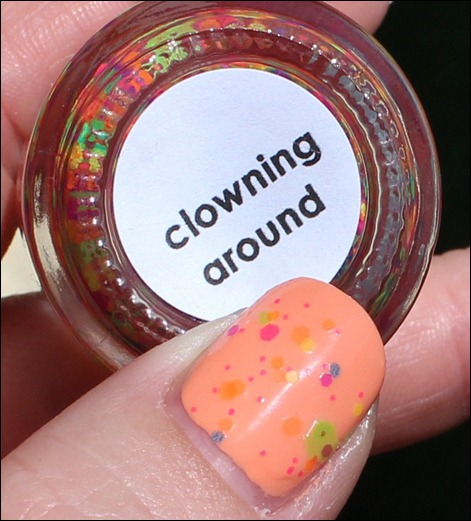 Lush Laquer Clowning around Swatch